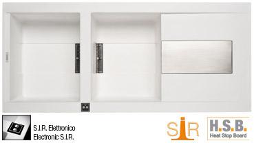 Гранітна мийка Elleci SIREX 500 ELECTRONIC Granitek