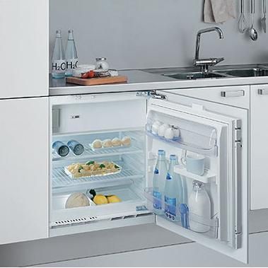 Вбудований холодильник Whirlpool arg 585/3 wp